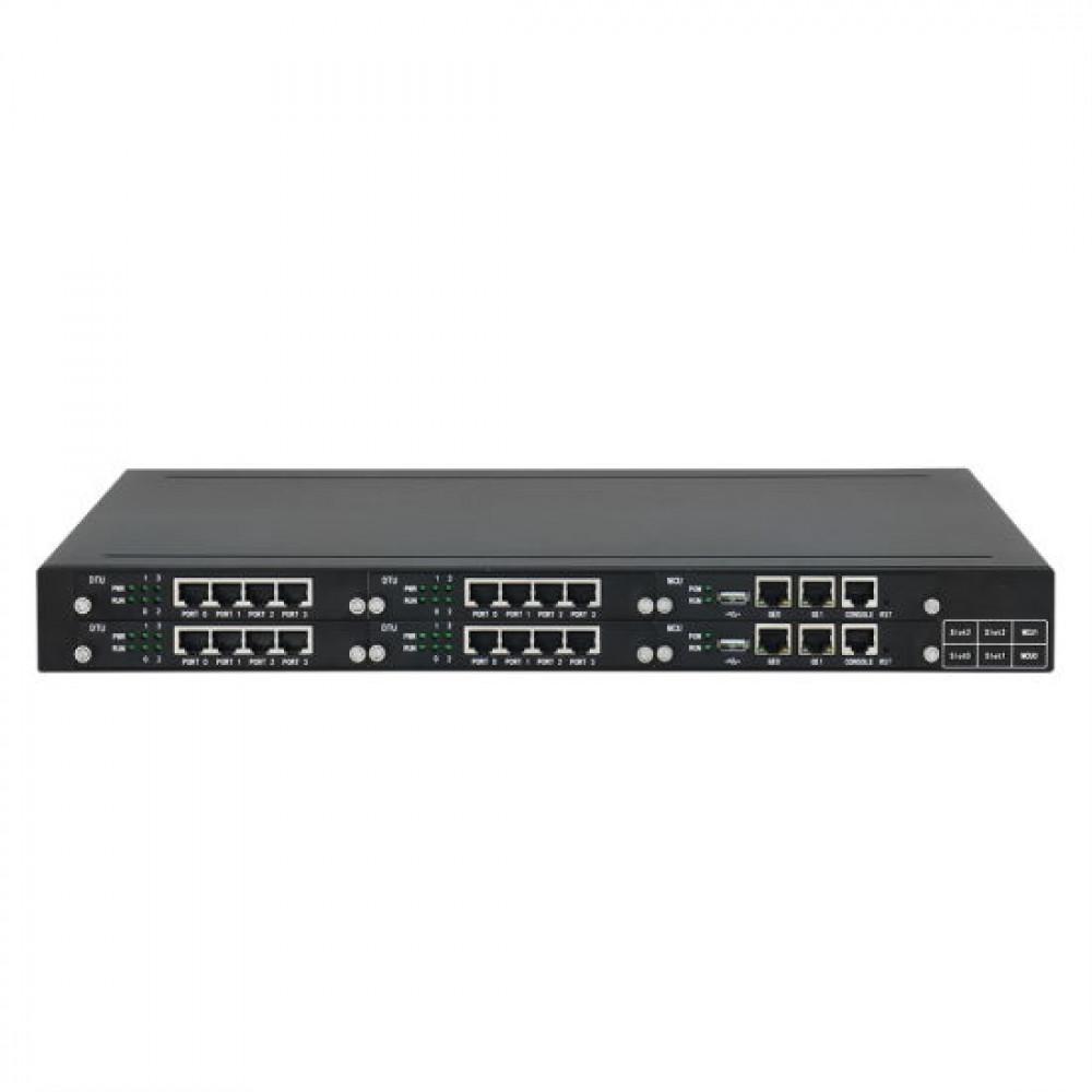 VoIP шлюз Dinstar MTG2000-4*E1