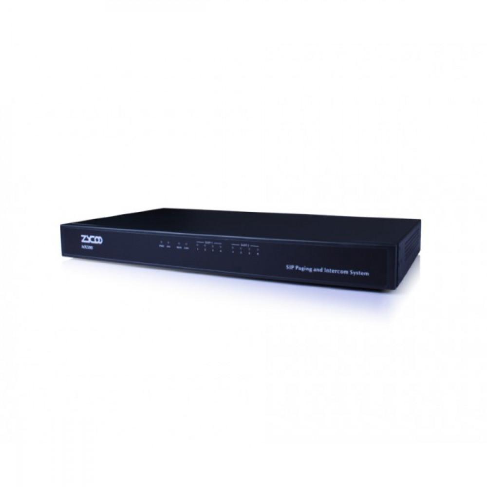 Інтерком сервер і інтелектуальна система трансляції та оповіщення ZYCOO MX500
