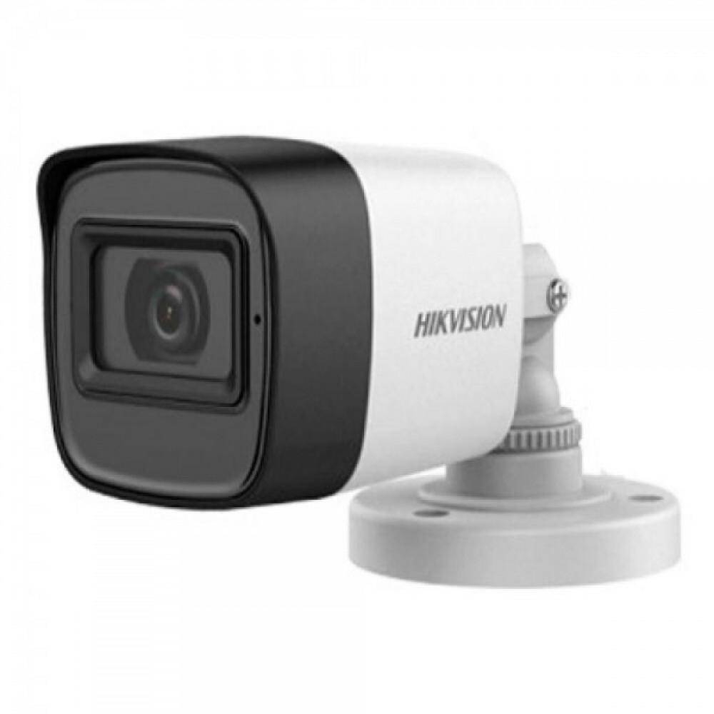 5Мп Turbo HD відеокамера Hikvision з вбудованим мікрофоном Hikvision DS-2CE16H0T-ITFS (3.6 мм)