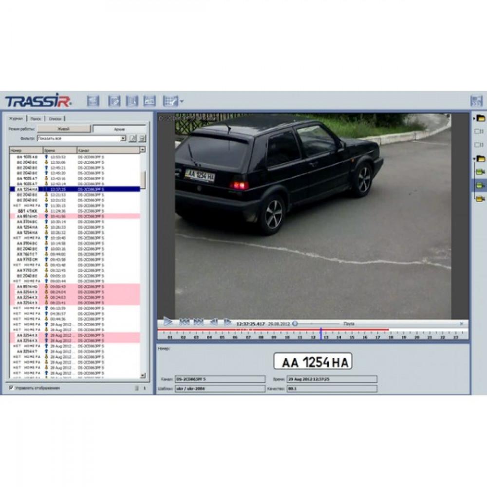Модуль AutoTRASSIR системи розпізнавання автономерів (LPR) 1 канал до 200 км\год