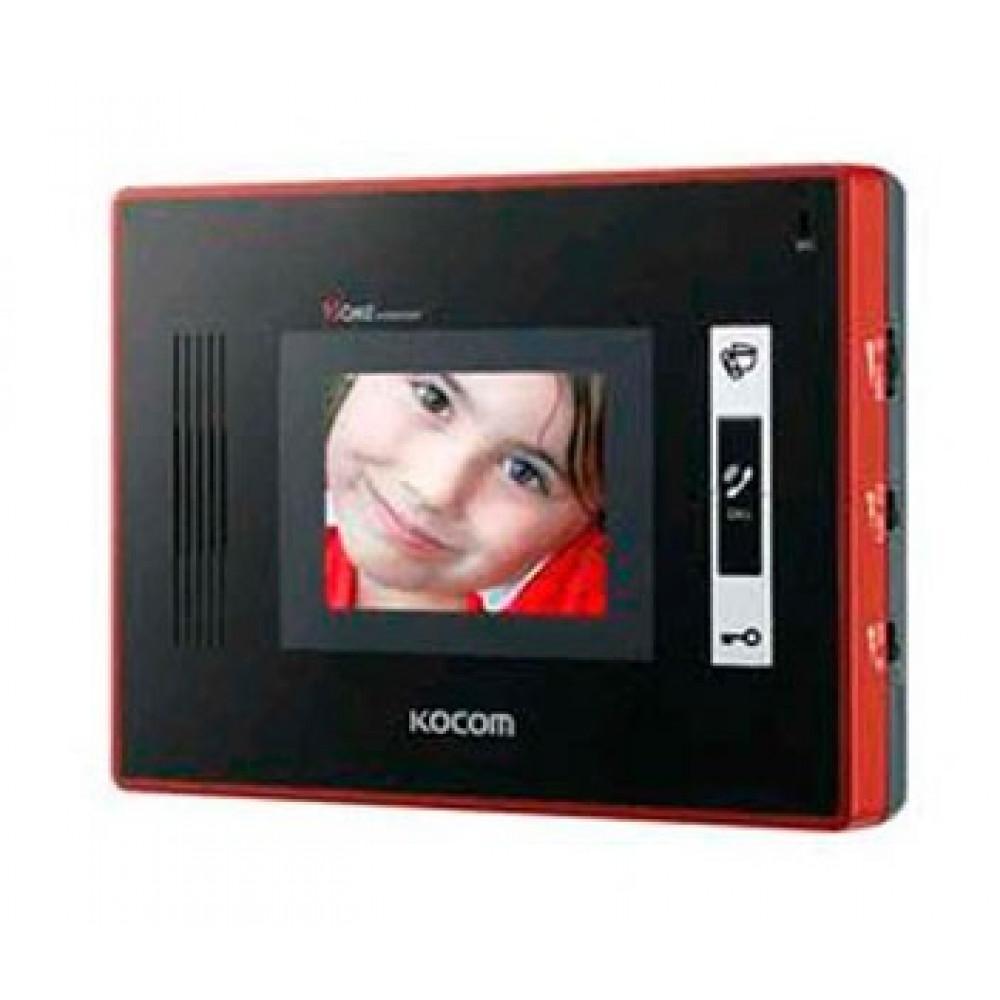 """3.5"""" монітор KOCOM KVC-W354 (red)"""