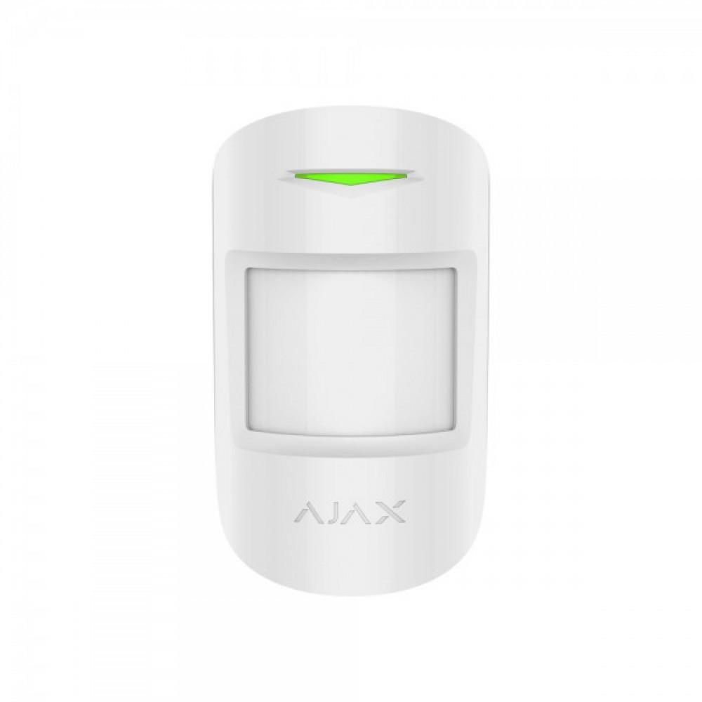 Бездротовий датчик руху Ajax MotionProtect Plus білий