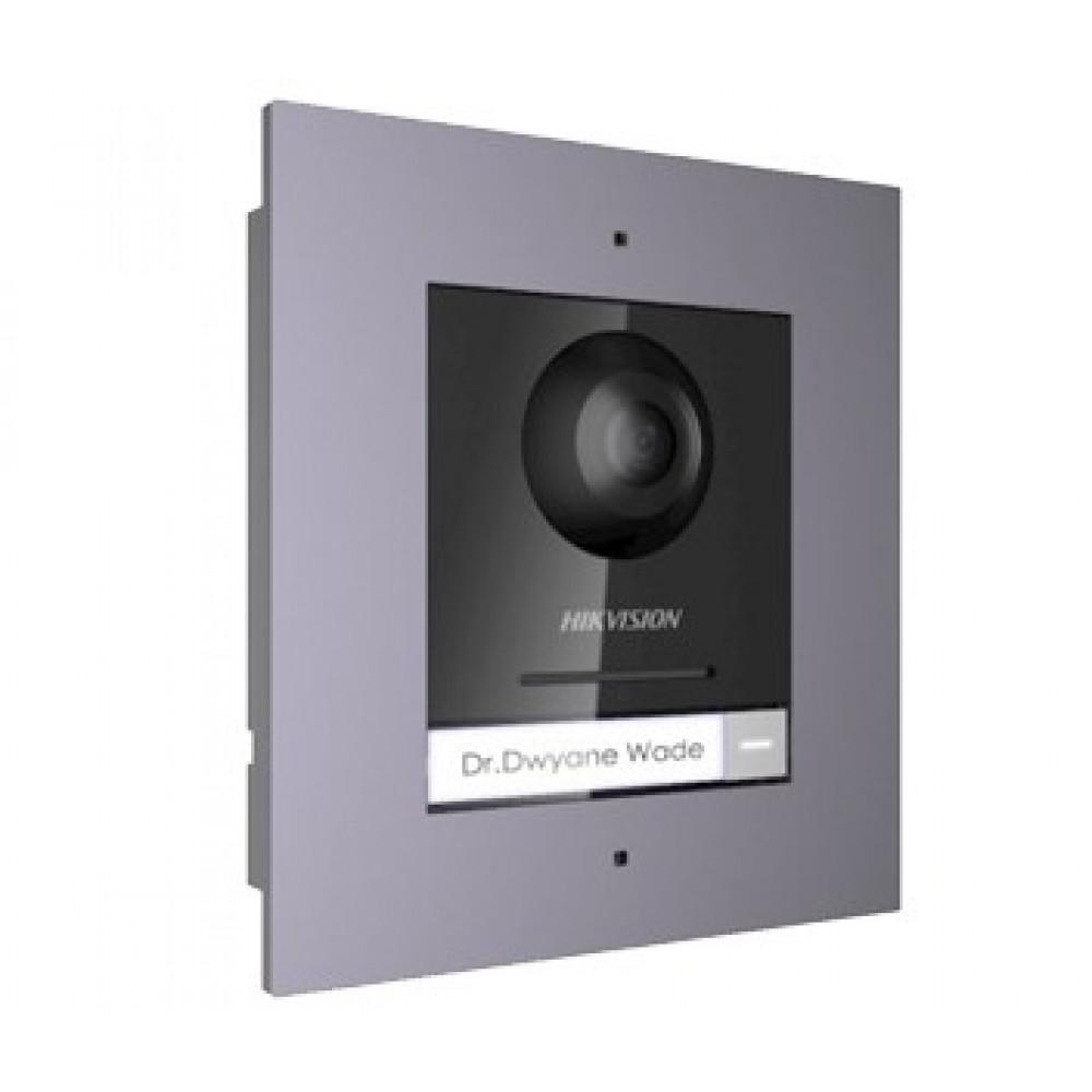 Комплект модуля викличної IP панелі + врізна рамка Hikvision DS-KD8003-IME1/Flush