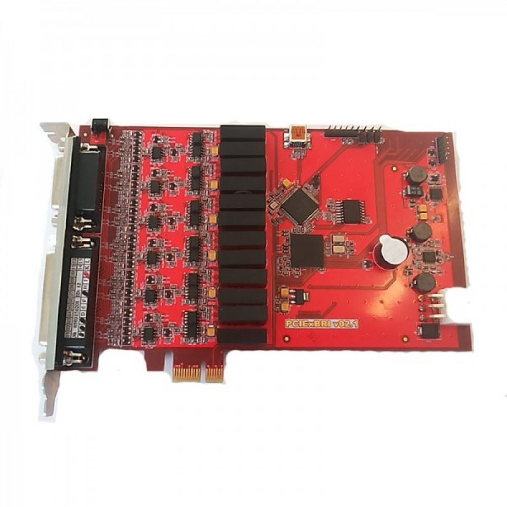 Реєстратор мови AMUR-PCIe-BRI-12/6