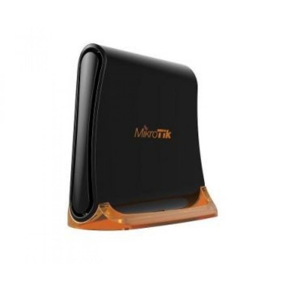 3-портовий Wi-Fi маршрутизатор MikroTik hAp Mini (RB931-2nD)