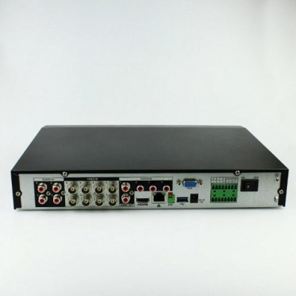 8-канальний Penta-brid 4K Mini 1U Dahua DHI-XVR7108HE-4KL-X