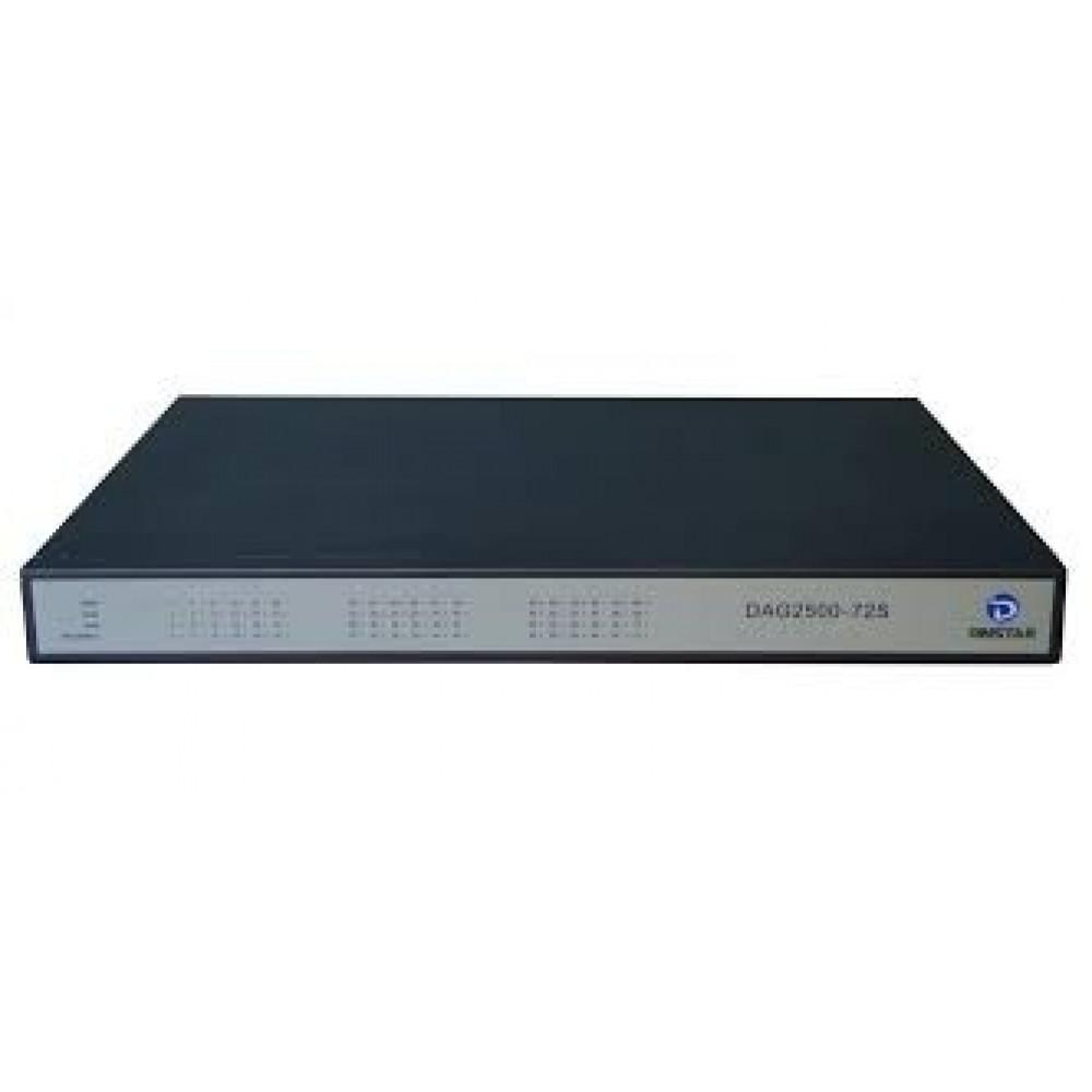 VoIP шлюз Dinstar DAG2500-72s складає