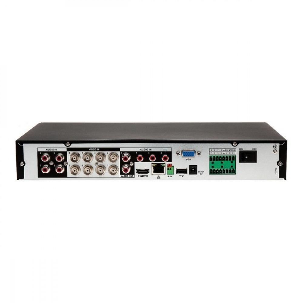 Гібридний відеореєстратор Dahua XVR5108HE-X