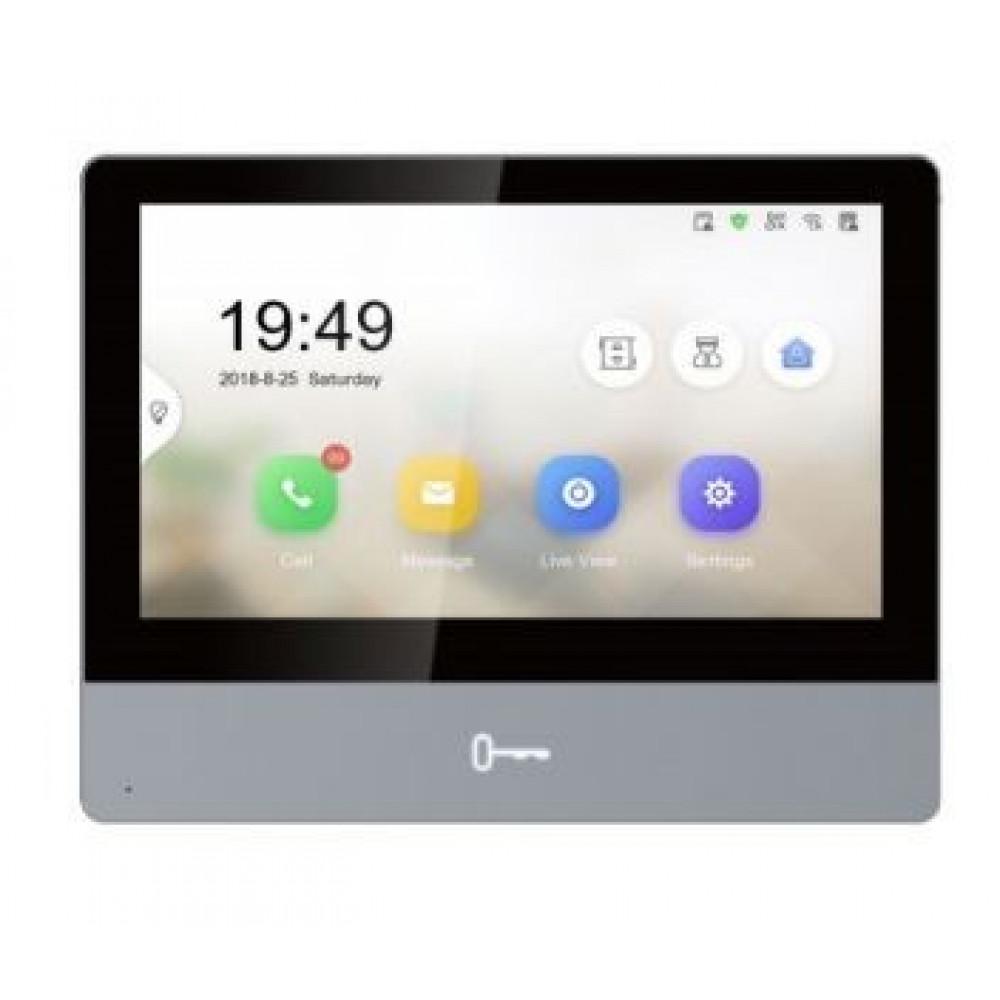 """7"""" IP відеодомофон Hikvision DS-KH8350-WTE1"""