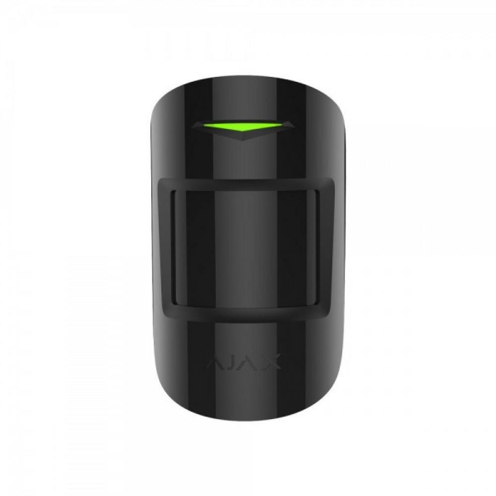 Бездротовий датчик руху Ajax MotionProtect Plus чорний