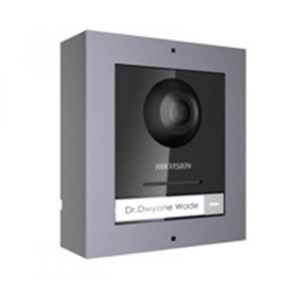 Комплект модуля викличної IP панелі + накладна рамка Hikvision DS-KD8003-IME1/Surface