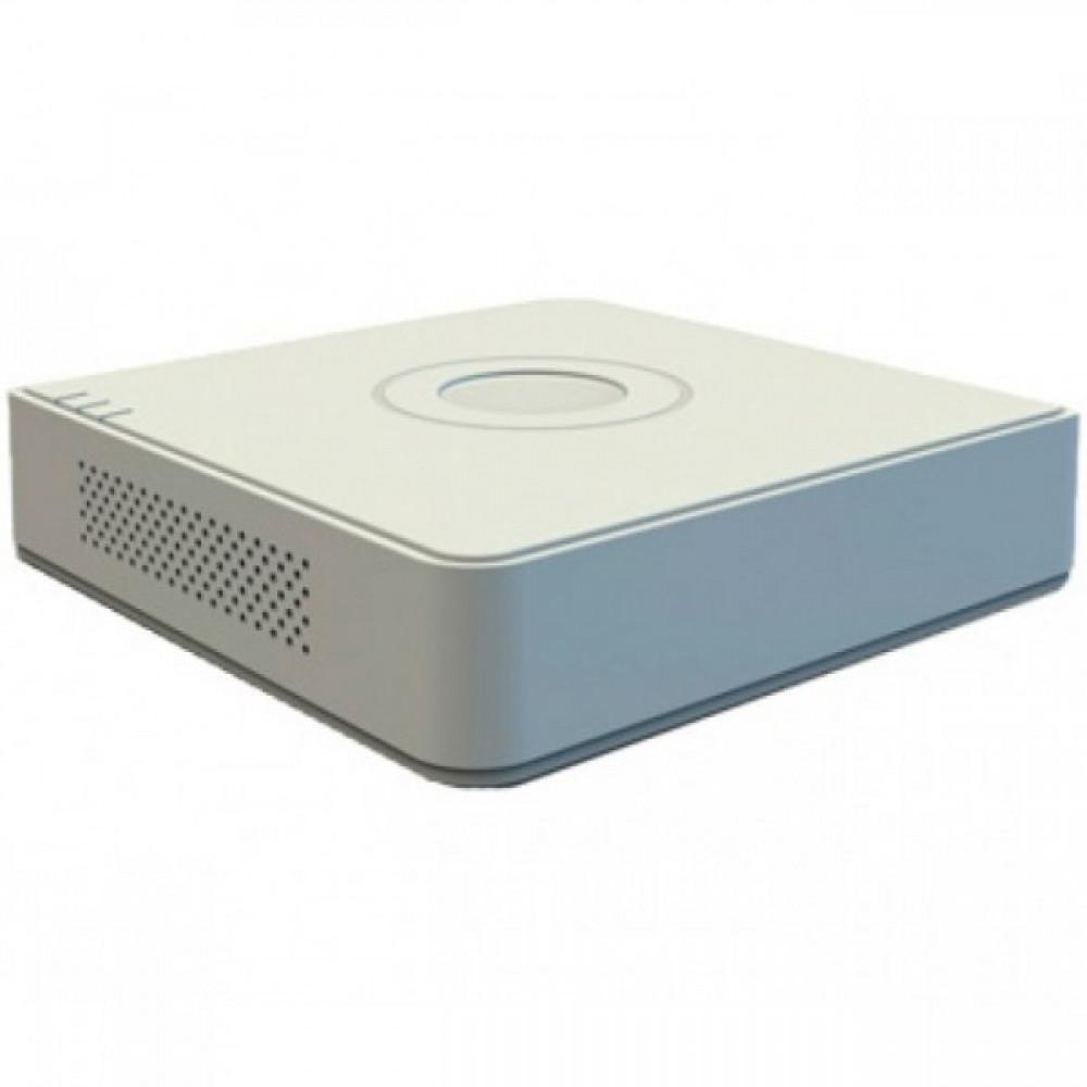 4-канальний Turbo HD відеореєстратор з підтримкою аудіо по коаксиалу Hikvision DS-7104HUHI-K1(S)
