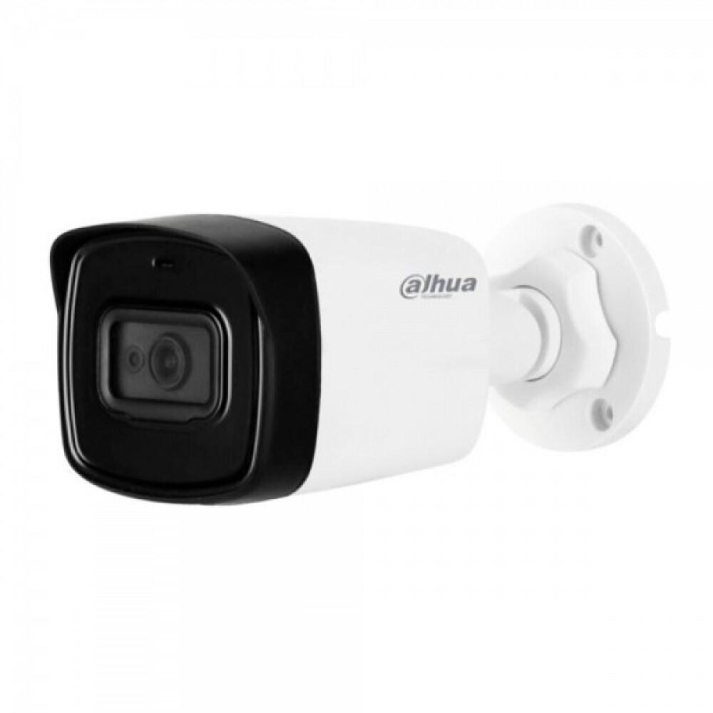 4K HDCVI відеокамеру Dahua з вбудованим мікрофоном Dahua DH-HAC-HFW1801TLP-A (2.8 мм)