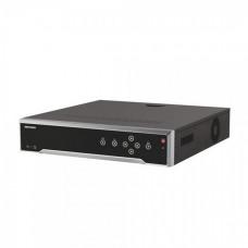 32-канальний 4K реєстратор c PoE комутатором на 16 портів Hikvision DS-7732NI-I4/16P (B)