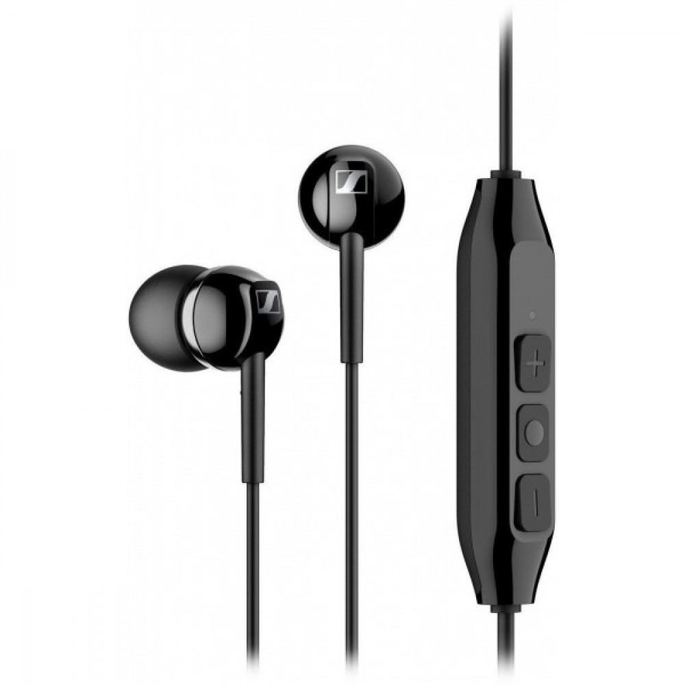 Навушники Sennheiser CX 150BT Wireless Mic Black