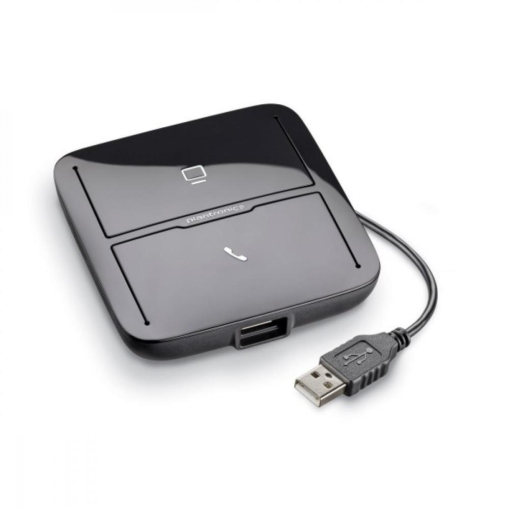 Адаптер Plantronics MDA220 для підключення гарнітури до комп'ютера і стаціонарного телефону