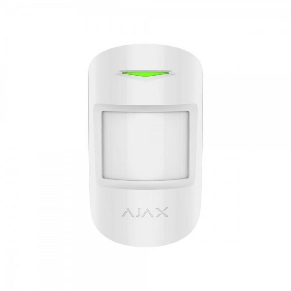 Бездротовий датчик руху Ajax MotionProtect білий