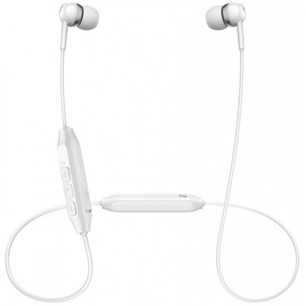 Навушники Sennheiser CX 150BT Wireless Mic White