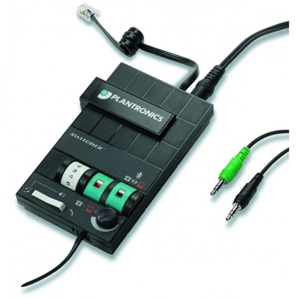 Адаптер Plantronics MX-10/A для підключення гарнітури до комп'ютера і телефонного апарату
