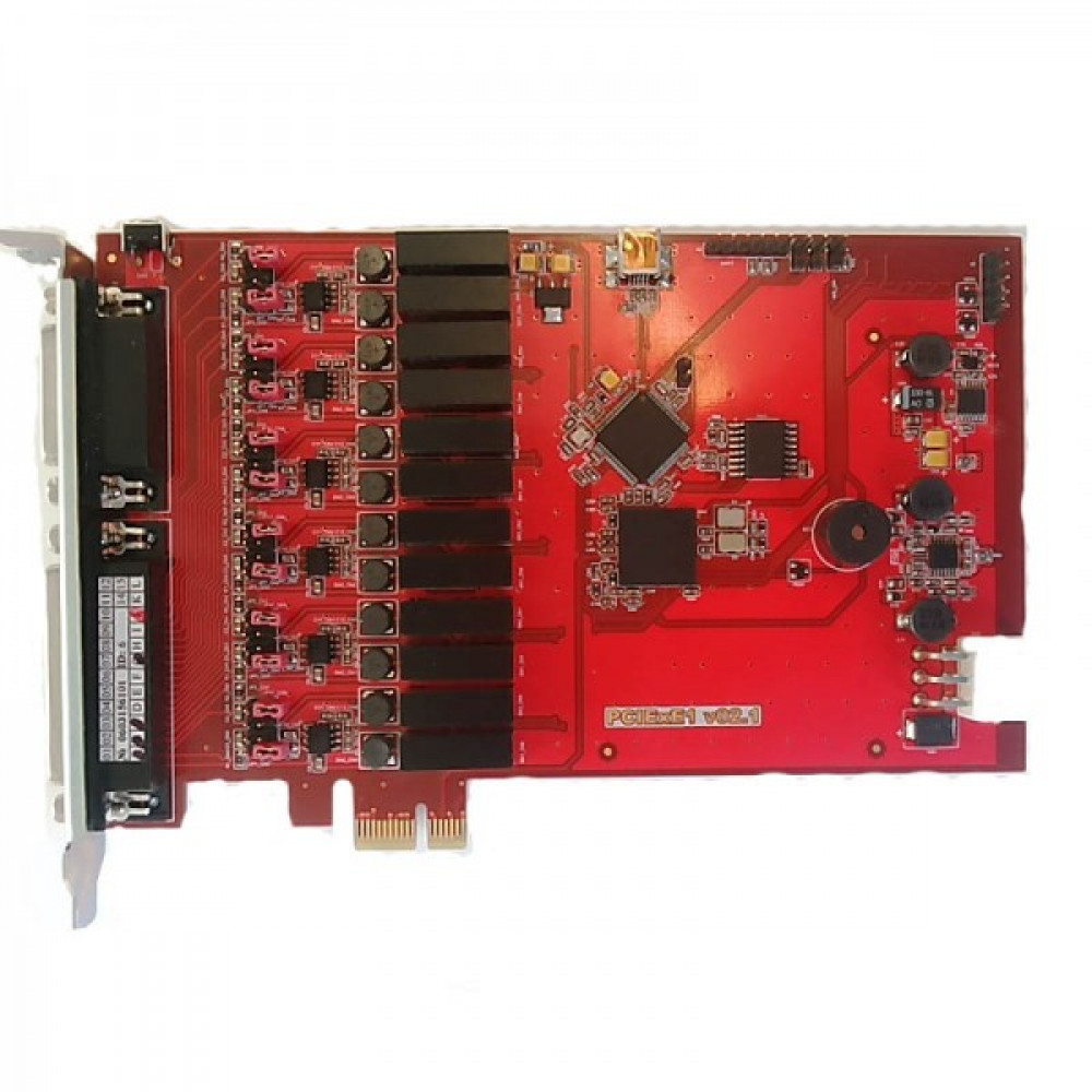Реєстратор мови AMUR-PCIe-E1-6/2
