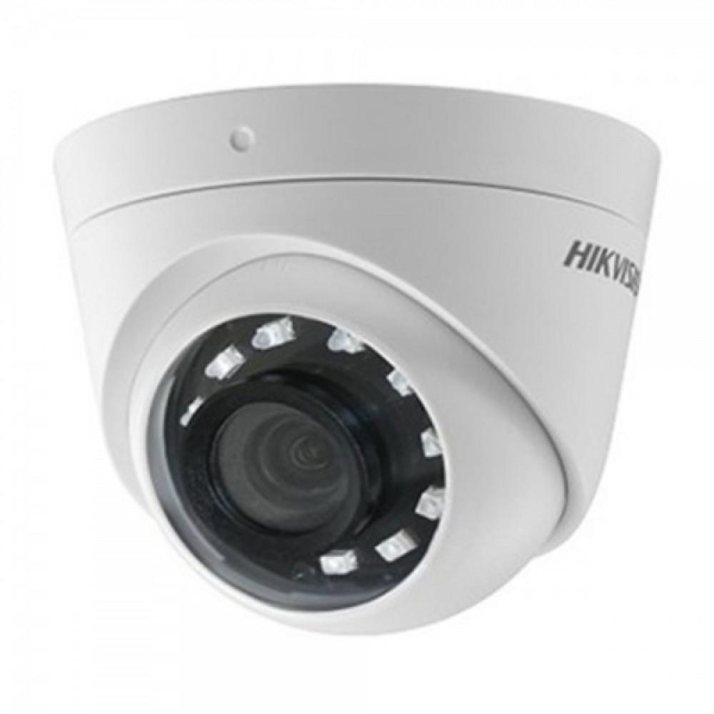 2Мп Turbo HD відеокамера Hikvision з вбудованим Балуном Hikvision DS-2CE56D0T-I2PFB (2.8 мм)