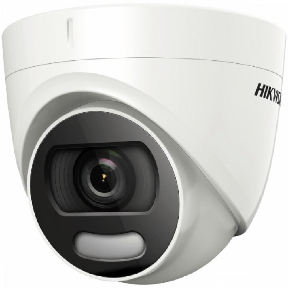 5Мп ColorVu Turbo HD відеокамера Hikvision c лід підсвічуванням Hikvision DS-2CE72HFT-F (2.8 мм)