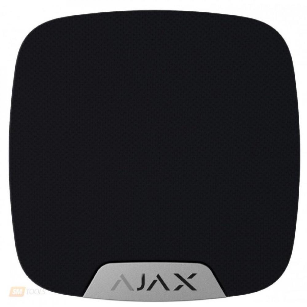 Бездротова кімнатна сирена Ajax HomeSiren чорна