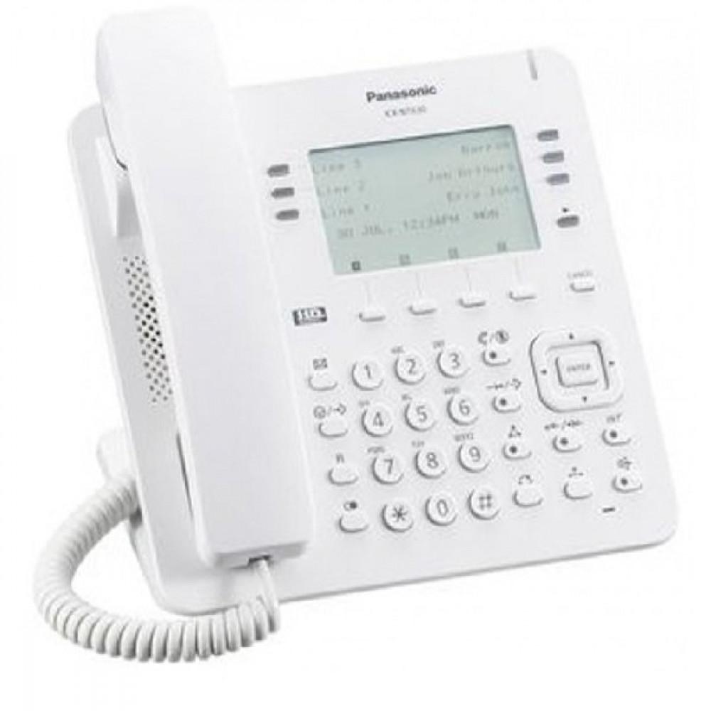 IP-телефон Panasonic KX-NT630RU White