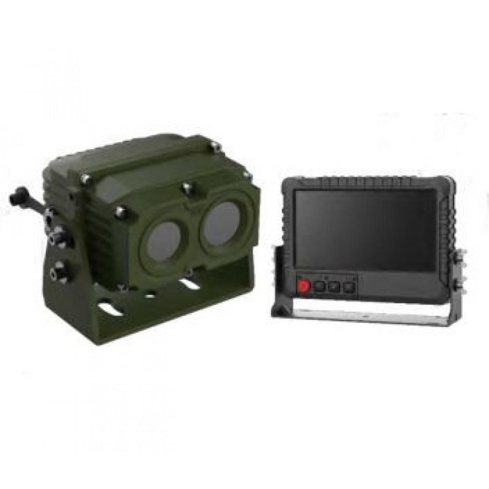 Тепловізійна биспектральная транспортна камера Hikvision DS-2TV13-10I