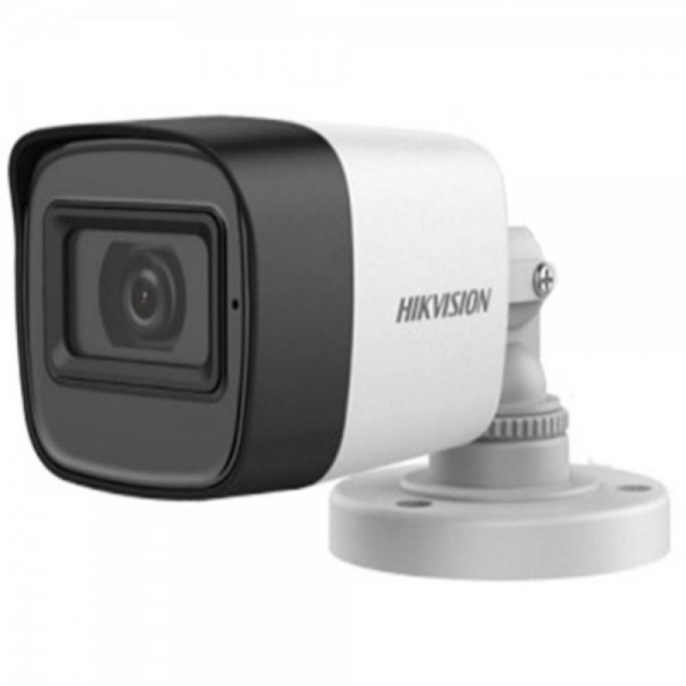 2Мп Turbo HD відеокамера Hikvision з вбудованим мікрофоном Hikvision DS-2CE16D0T-ITFS (3.6 мм)