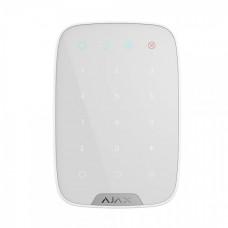 Бездротова сенсорна клавіатура Ajax KeyPad білий