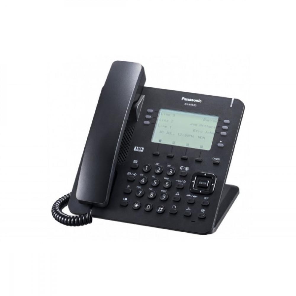 IP-телефон Panasonic KX-NT630RU-B Black