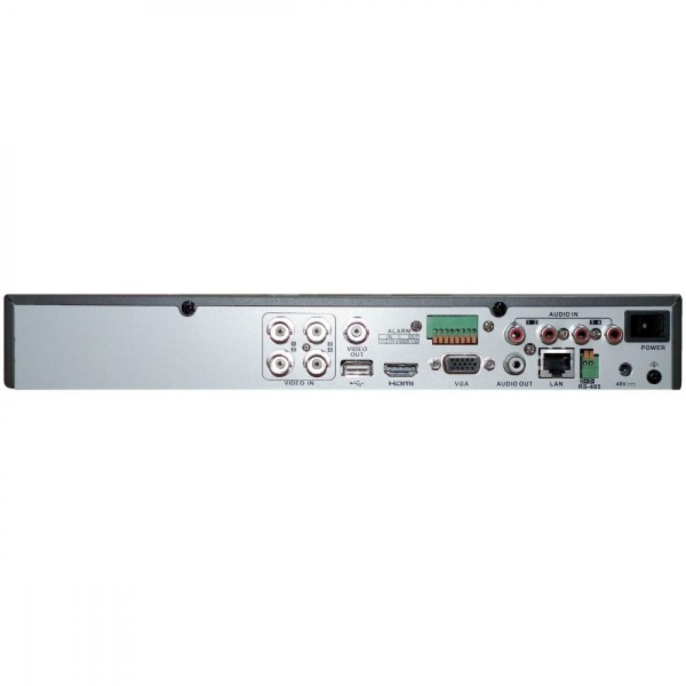 4-канальний Turbo HD відеореєстратор з підтримкою PoC Hikvision DS-7204HUHI-K1/P (PoC)