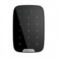 Бездротова сенсорна клавіатура Ajax KeyPad чорна