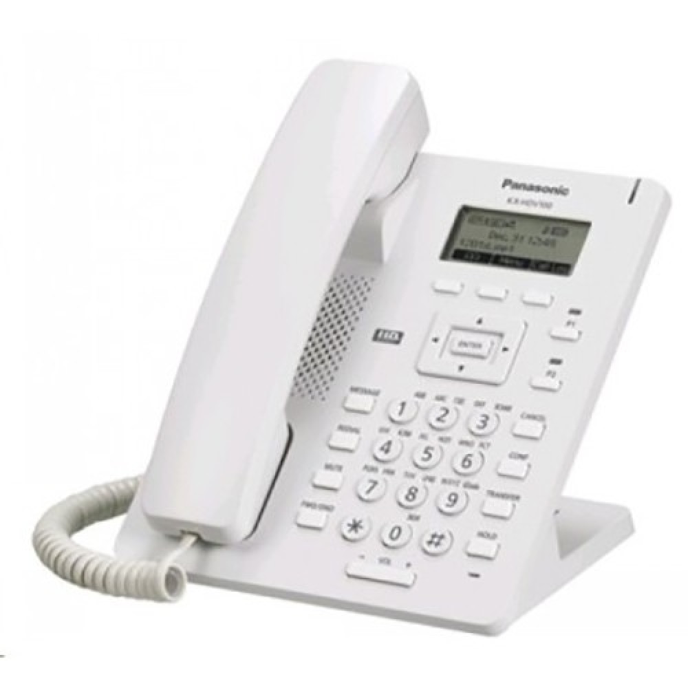 IP телефон Panasonic KX-HDV100RU White