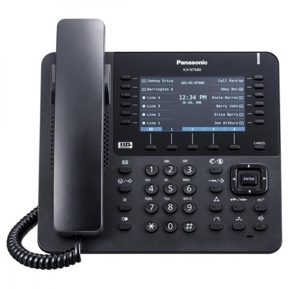 IP-телефон Panasonic KX-NT680RU-B Black