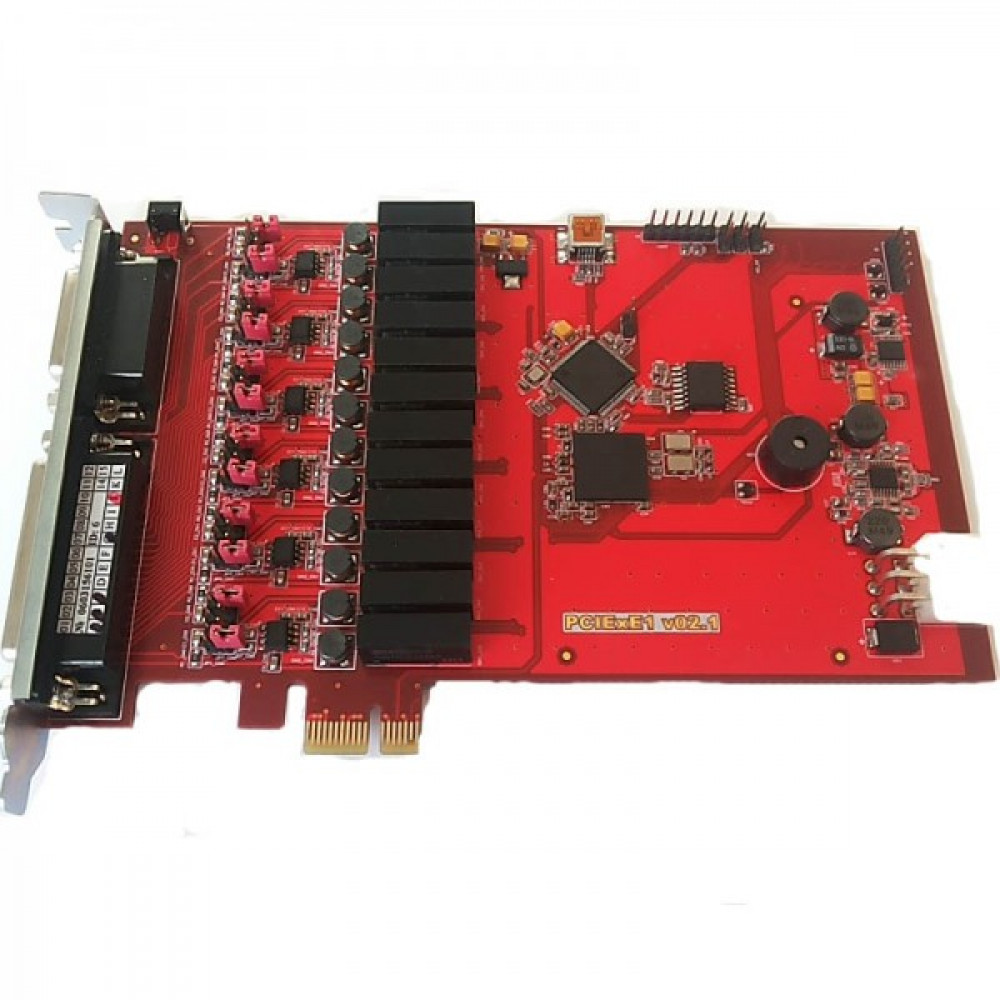 Реєстратор мови AMUR-PCIe-E1-6/6