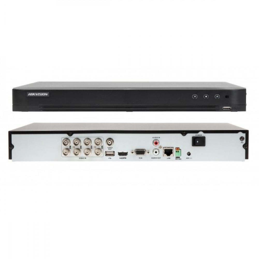 8-канальний Turbo HD відеореєстратор з підтримкою POC Hikvision DS-7208HQHI-K2/P (PoC)