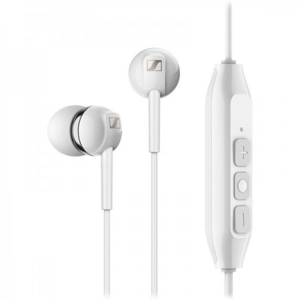 Навушники Sennheiser CX 350 BT Wireless Mic White