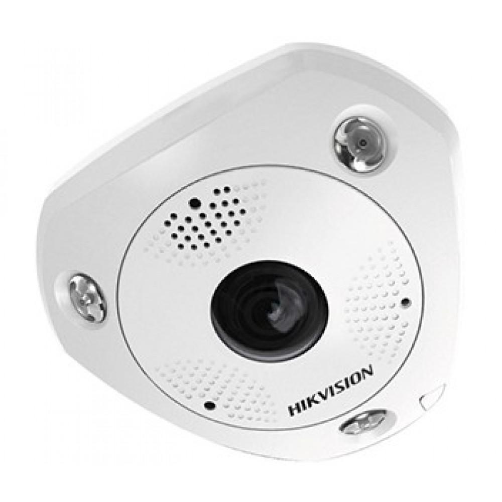 6Мп Fisheye IP камера серії DeepinView Hikvision DS-2CD6365G0-IVS